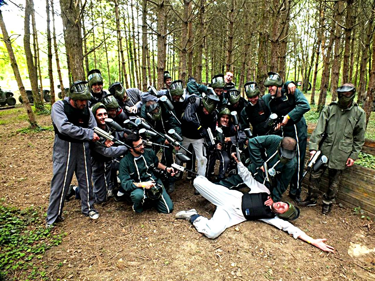 Paintball-groupe